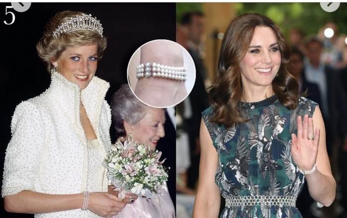 10 món trang sức quý giá công nương Diana để lại cho con dâu Ảnh 9