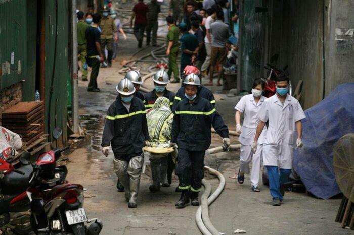 Chiều nay giám đốc công ty môi trường hầu tòa vụ 8 người chết cháy ở Hà Nội Ảnh 1