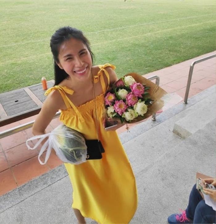 Bị chụp lén nhưng vẫn không thể nào dìm được nhan sắc tựa nàng thơ của loạt mỹ nhân Việt này, nhất là trùm cuối Ảnh 8