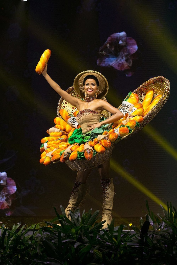 Võ Hoàng Yến - H'Hen Niê làm giám khảo chấm Trang phục dân tộc cho Khánh Vân, lộ diện 2 thiết kế được cứu vào Top 9 Ảnh 6