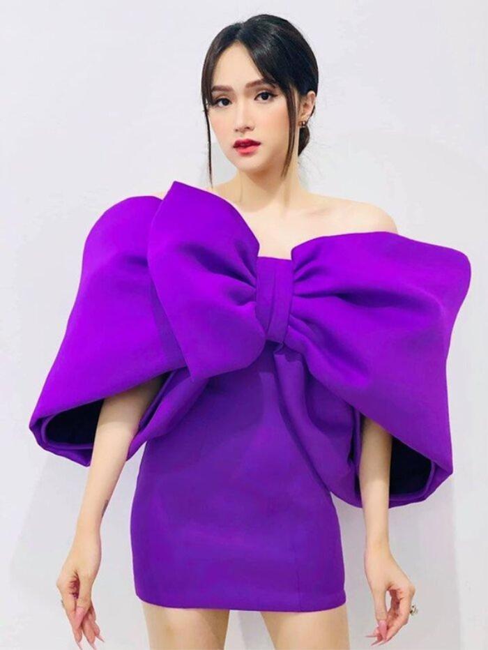 Mặc váy siêu ngắn lên sóng truyền hình: Sao Việt ngượng chín mặt liên tục tìm cách che đậy Ảnh 12