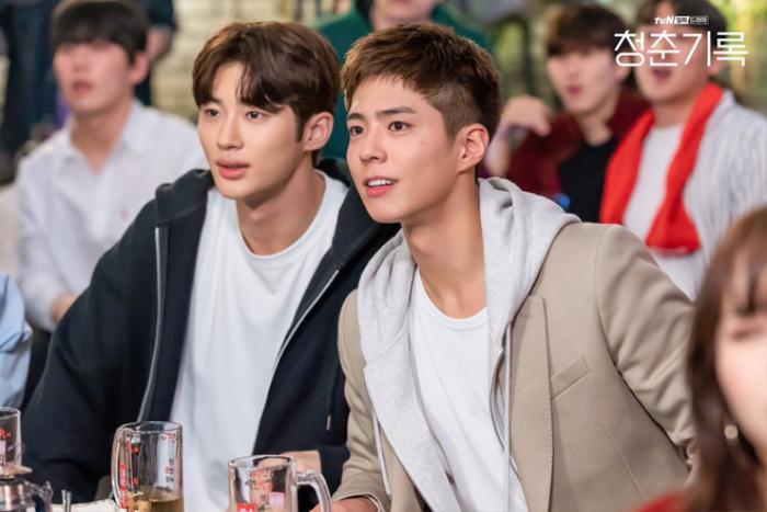 Trước giờ Park Bo Gum hóa mỹ nam vệ sĩ và cùng dàn diễn viên 'Ký sự thanh xuân' chia sẻ về tuổi trẻ Ảnh 6
