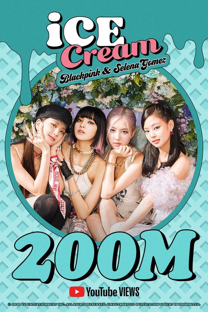 Bộ sưu tập MV 'nửa tỉ' view của BlackPink sáp nhập thêm thành viên, Ice Cream cũng vừa đạt cộc mốc view mới Ảnh 2