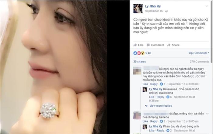 Không khoe hàng hiệu, Hương Giang, Lý Nhã Kỳ, Lệ Quyên khiến fan choáng khi đeo nhẫn kim cương siêu to khổng lồ Ảnh 12