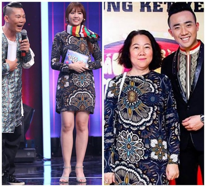 Hari Won chăm diện đồ cũ, mặc lại đồ của mẹ chồng mà vẫn lộng lẫy như thường Ảnh 1