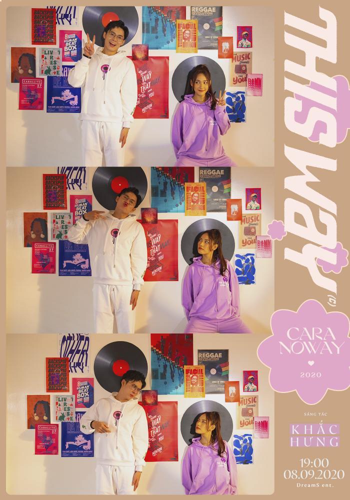 Sợ bị người khác 'giành mối', Cara công khai nụ hôn siêu ngọt ngào với NoWay ngay trong MV This Way Ảnh 4