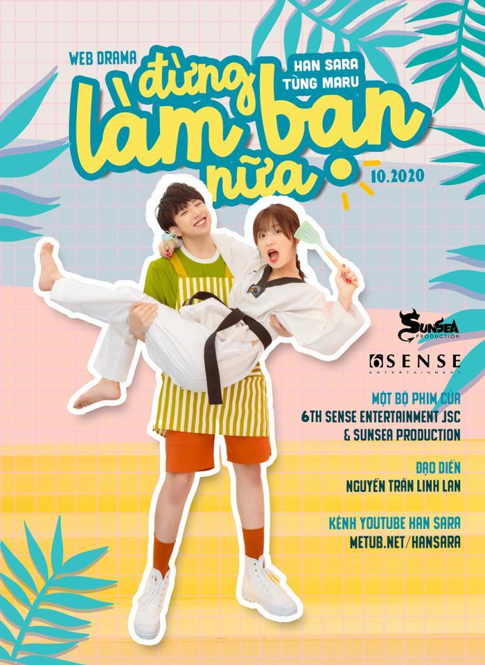 Cặp 'gà bông' Tùng Maru - Han Sara chính thức kết đôi trong dự án web-drama dành riêng cho fan SaRu Ảnh 1
