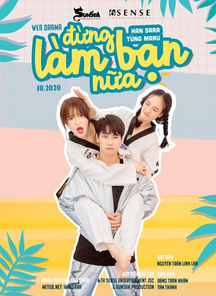 Cặp 'gà bông' Tùng Maru - Han Sara chính thức kết đôi trong dự án web-drama dành riêng cho fan SaRu Ảnh 3