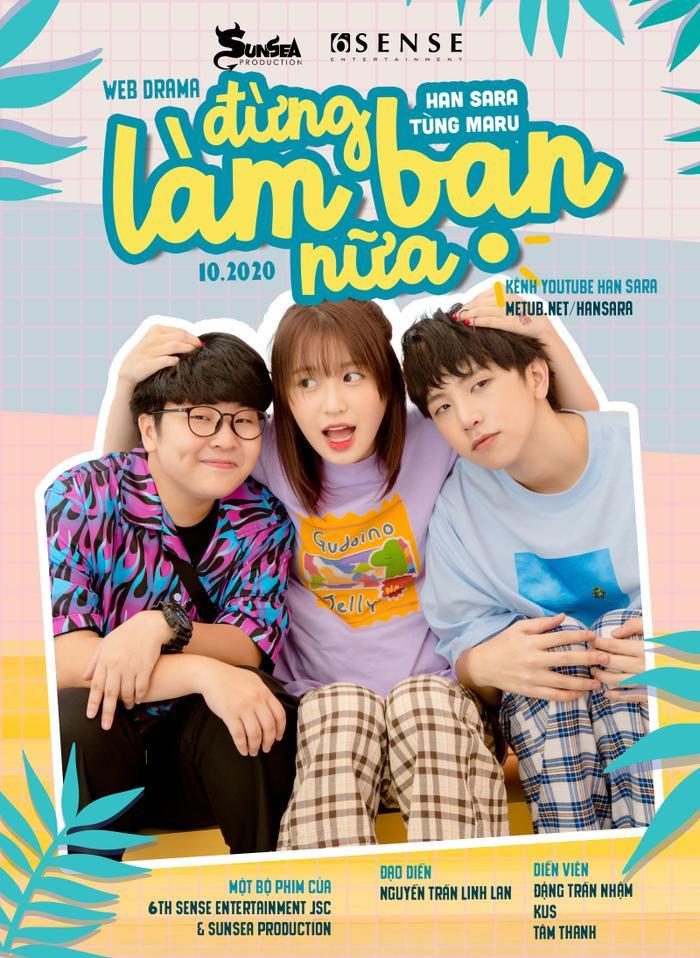 Cặp 'gà bông' Tùng Maru - Han Sara chính thức kết đôi trong dự án web-drama dành riêng cho fan SaRu Ảnh 2