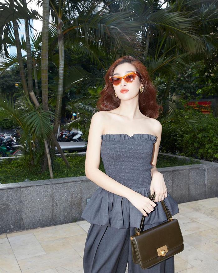 Hoa hậu Đỗ Mỹ Linh dịu dàng mong manh với váy chuyển sắc, nét đẹp chuẩn 'nàng thơ' Ảnh 5