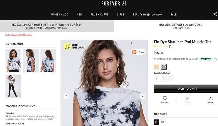 Sau khi chọc tức Ariana Grande, Forever 21 tiếp tục dính 'phốt' đạo ý tưởng Ảnh 2