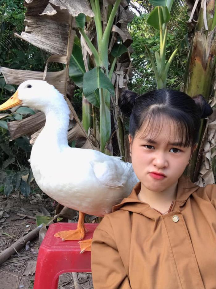 Cô bé YouTuber Sâu TiVi khóc nức nở khi rời xa chú vịt cưng để đi học, dân mạng bùi ngùi xúc động Ảnh 1