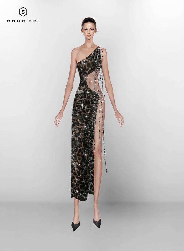 Hot: Miley Cyrus khoe dáng nuột nà, đẹp đến choáng ngợp khi mặc đầm Công Trí, Ảnh 7