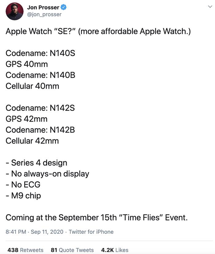 Apple Watch SE với giá rẻ bất ngờ sẽ được ra mắt ngay trong tuần tới Ảnh 1