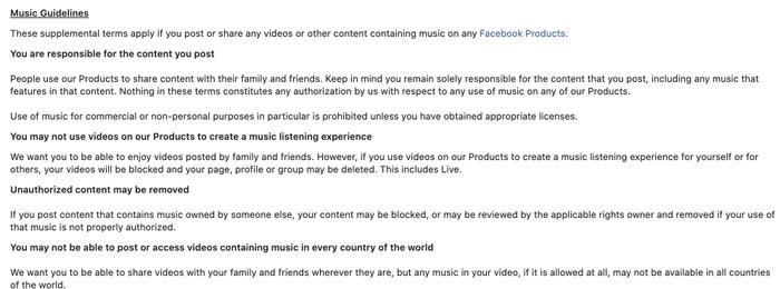 Từ 1/10, Facebook sẽ xóa tài khoản nghệ sĩ phát trực tiếp buổi ca nhạc nếu không đáp ứng đủ điều kiện Ảnh 2
