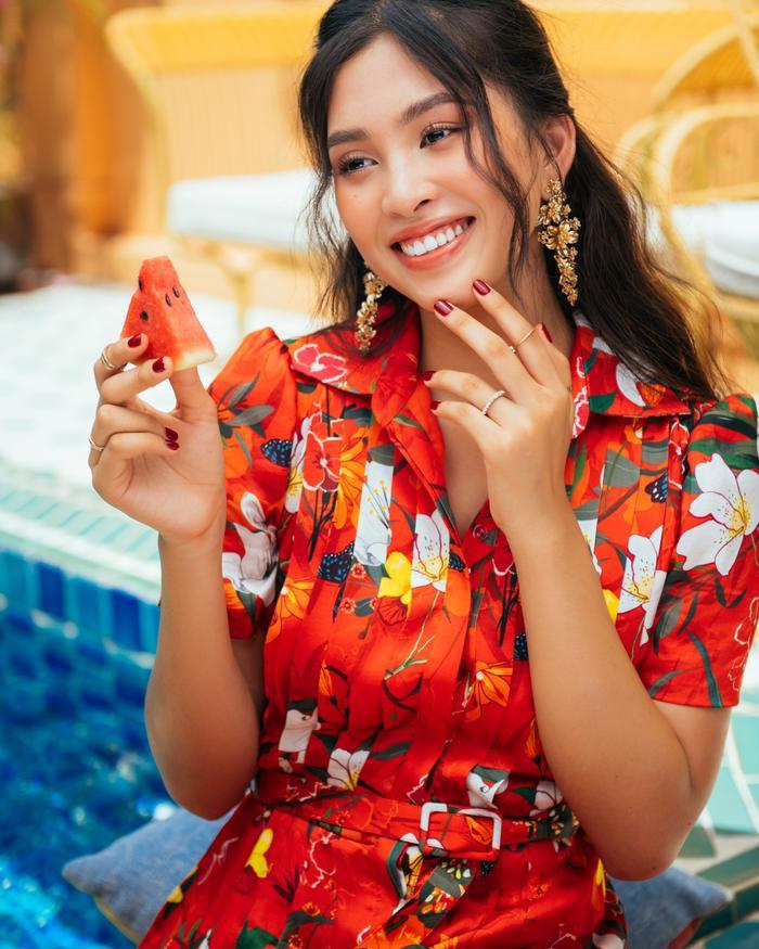 Ngơ ngẩn ngắm Hoa hậu Tiểu Vy đẹp nuột nà trong bộ ảnh chụp tại quê nhà Hội An Ảnh 8