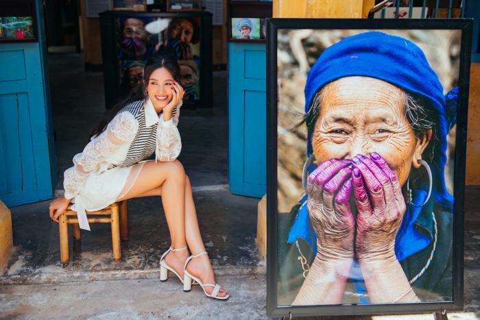 Ngơ ngẩn ngắm Hoa hậu Tiểu Vy đẹp nuột nà trong bộ ảnh chụp tại quê nhà Hội An Ảnh 9