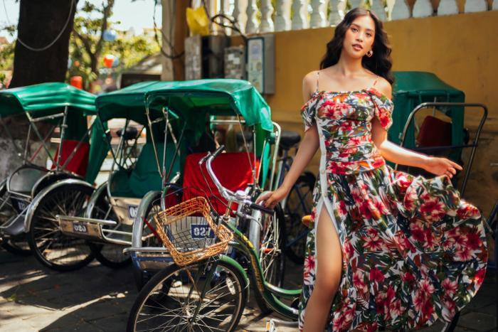Ngơ ngẩn ngắm Hoa hậu Tiểu Vy đẹp nuột nà trong bộ ảnh chụp tại quê nhà Hội An Ảnh 15