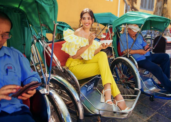 Ngơ ngẩn ngắm Hoa hậu Tiểu Vy đẹp nuột nà trong bộ ảnh chụp tại quê nhà Hội An Ảnh 19