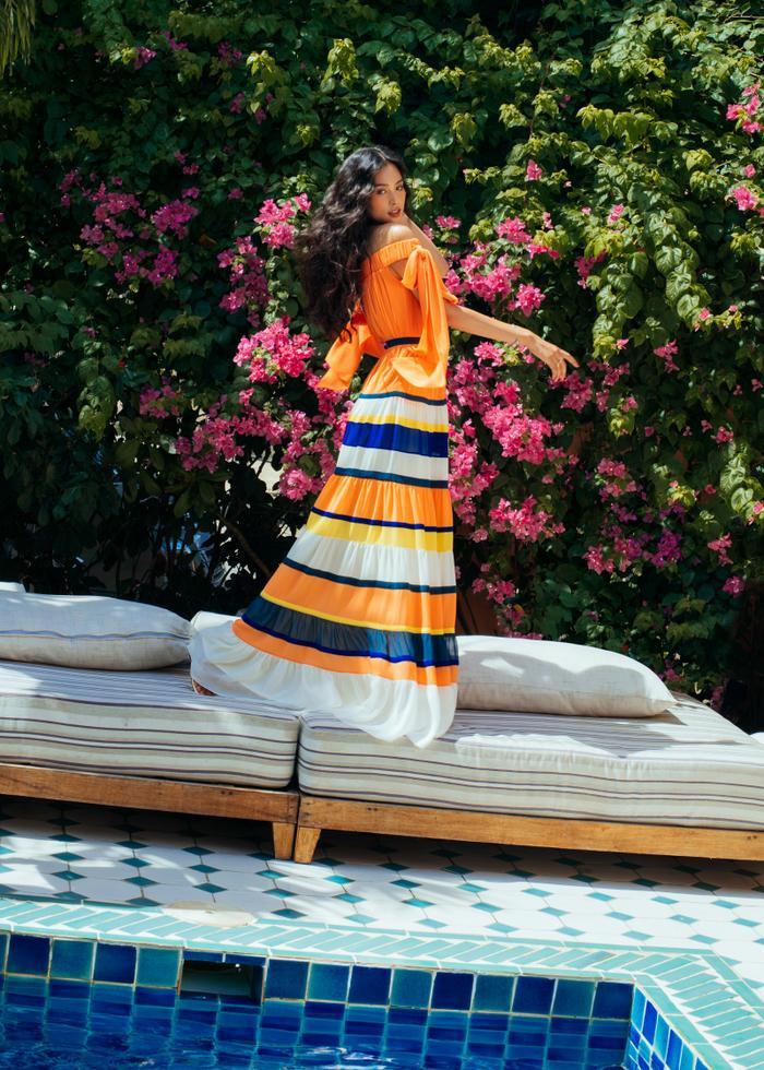 Ngơ ngẩn ngắm Hoa hậu Tiểu Vy đẹp nuột nà trong bộ ảnh chụp tại quê nhà Hội An Ảnh 29