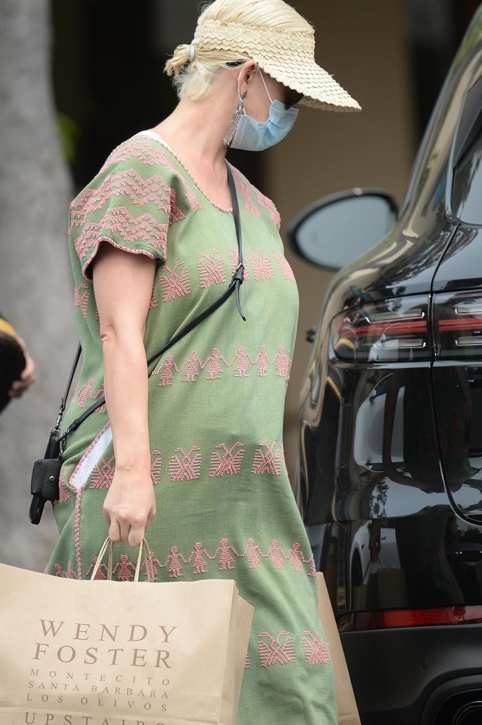 Katy Perry lần đầu xuất hiện sau khi hạ sinh con gái đầu lòng Ảnh 3