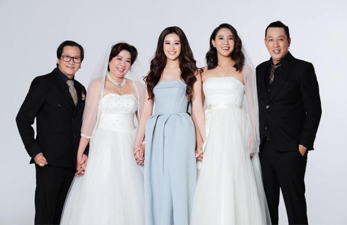Khánh Vân làm dâu phụ trong đám cưới anh trai, chị dâu nhan sắc cũng chẳng phải dạng vừa Ảnh 3