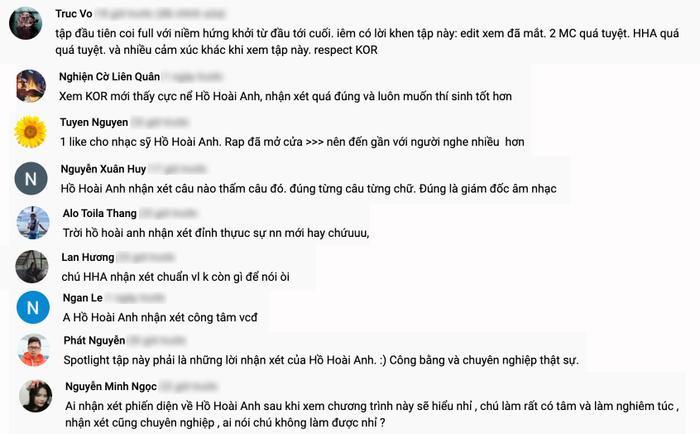 Fan King Of Rap 'lật mặt' vì Hồ Hoài Anh nhận xét quá công tâm, đầy chuyên môn: 'Ai từng chê phải hối hận rồi' Ảnh 3