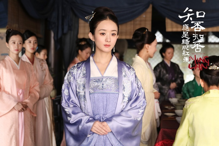 Được 'song đề cử' Kim Ưng 2020, Triệu Lệ Dĩnh chễm chệ dẫn đầu trên hotsearch Weibo Ảnh 5