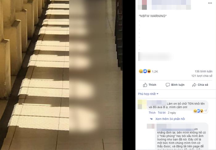 Nhóm học sinh trường chuyên nổi tiếng tại TP.HCM đăng tải hình ảnh nhạy cảm lên fanpage gây bức xúc Ảnh 1