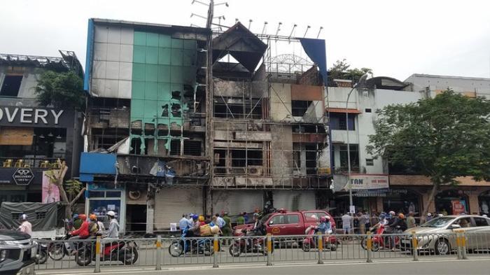 Nghi phạm gây cháy chi nhánh ngân hàng Eximbank ở TP.HCM: Đốt dây dẫn điện để xem cháy thế nào Ảnh 1