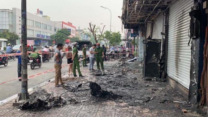 Nghi phạm gây cháy chi nhánh ngân hàng Eximbank ở TP.HCM: Đốt dây dẫn điện để xem cháy thế nào Ảnh 2
