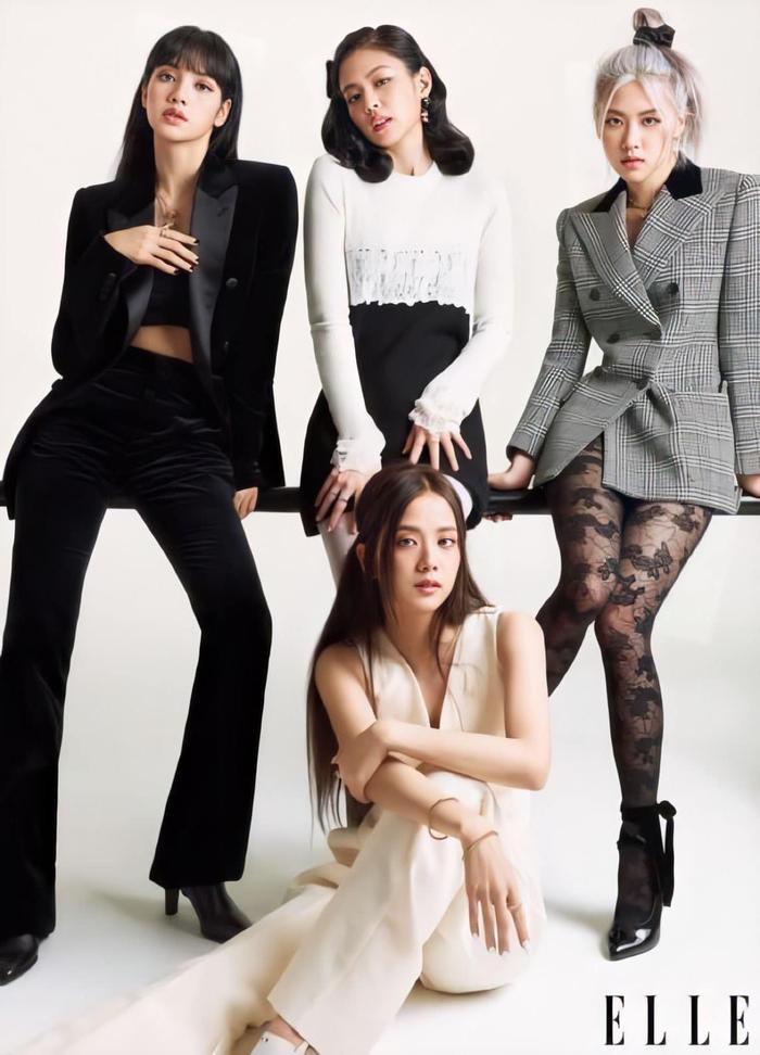 Dàn mỹ nhân BlackPink mang thời trang thanh lịch & cổ điển 'ngự trị' trên tạp chí Elle Mỹ Ảnh 2