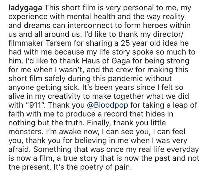 Lady Gaga 'thả xích' MV 911: Fan trầm trồ trước visual đỉnh cao và tài diễn xuất xuất thần của 'Mẹ Quái Vật' Ảnh 6