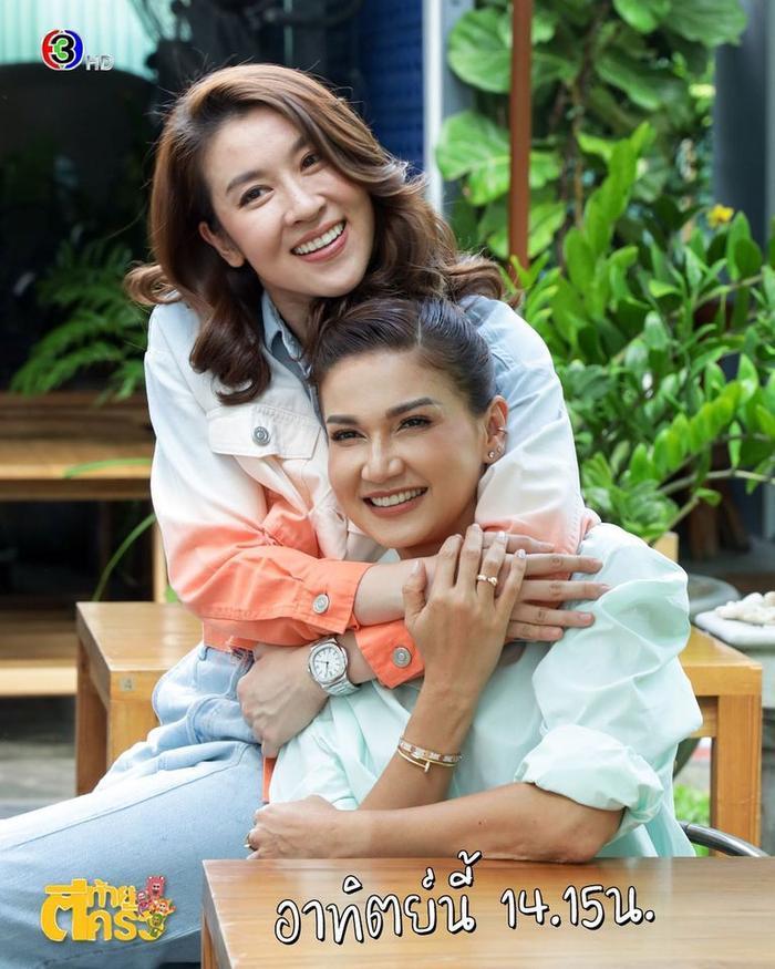 'Ley Luang' 2021: Cặp bách hợp 'mẹ chồng - nàng dâu' tái ngộ, Jes Jespipat lần đầu hợp tác cùng Hoa hậu hoàn vũ Thái Lan Pooklook Fonthip Ảnh 12