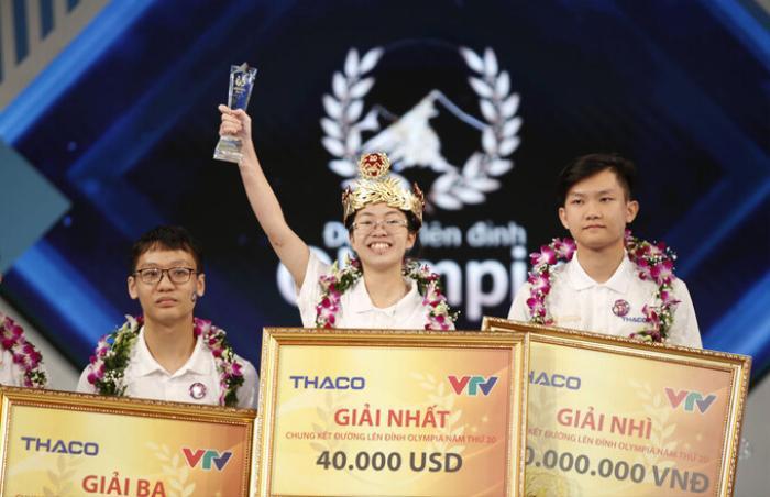 Hành trình trở thành Quán quân Đường lên đỉnh Olympia năm thứ 20 của nữ sinh Ninh Bình - Nguyễn Thị Thu Hằng Ảnh 3