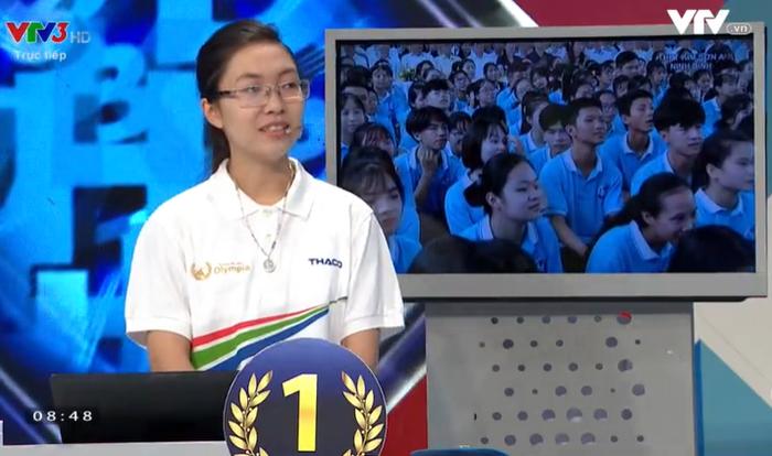 Hành trình trở thành Quán quân Đường lên đỉnh Olympia năm thứ 20 của nữ sinh Ninh Bình - Nguyễn Thị Thu Hằng Ảnh 2