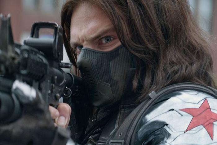 'The Falcon and the Winter Soldier': Rò rỉ loạt ảnh trên xe moto cực ngầu của Sebastian Stan Ảnh 1