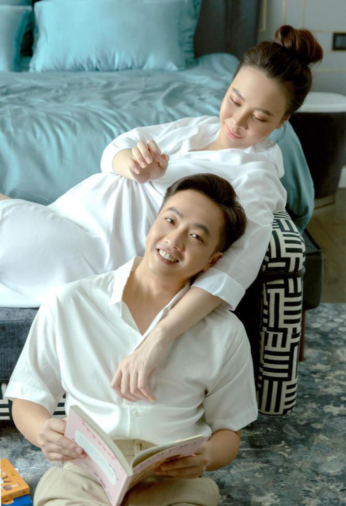 Than thở vì phải trông con cho vợ đi cafe, Cường Đô La lập tức bị Đàm Thu Trang 'phản pháo cực mạnh' Ảnh 4