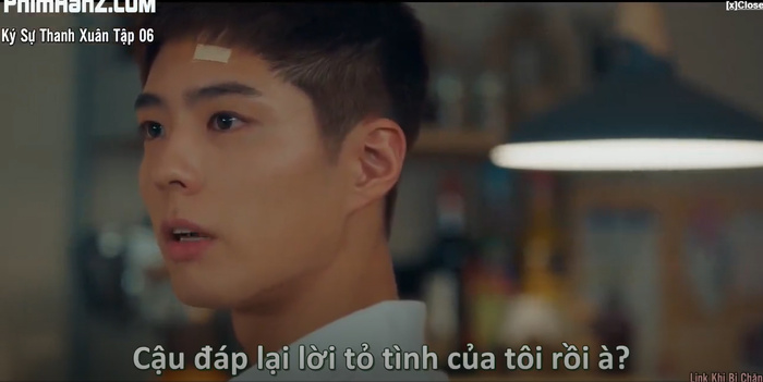 Ký sự thanh xuân tập 6: Park Bo Gum bất ngờ tỏ tình với Park So Dam và họ có nụ hôn đầu lãng mạn Ảnh 4