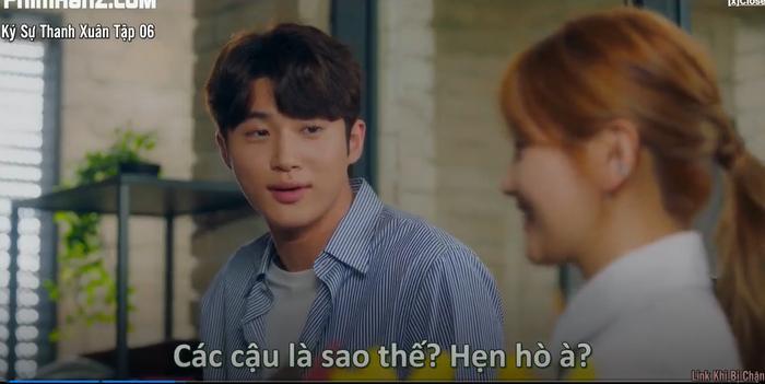 Ký sự thanh xuân tập 6: Park Bo Gum bất ngờ tỏ tình với Park So Dam và họ có nụ hôn đầu lãng mạn Ảnh 7