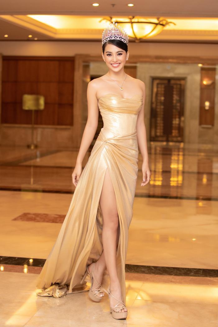 Tiểu Vy - Phương Nga - Thúy An rạng rỡ thu hút mọi ánh nhìn, tự hào nhìn lại 2 năm nhiệm kỳ Hoa hậu Việt Nam Ảnh 4