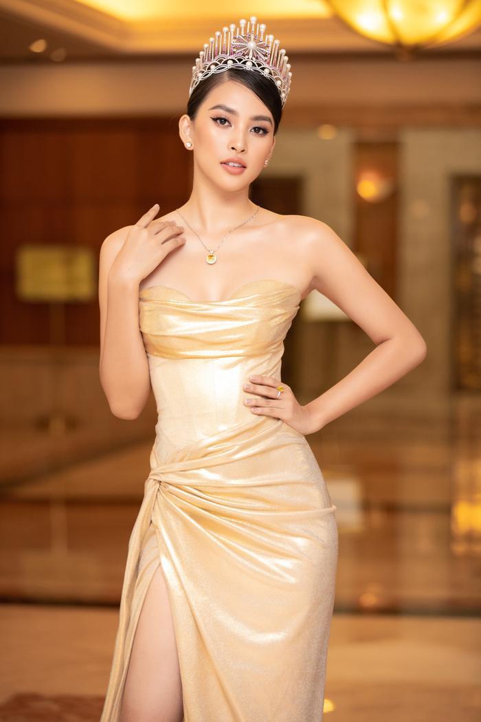 Tiểu Vy - Phương Nga - Thúy An rạng rỡ thu hút mọi ánh nhìn, tự hào nhìn lại 2 năm nhiệm kỳ Hoa hậu Việt Nam Ảnh 1