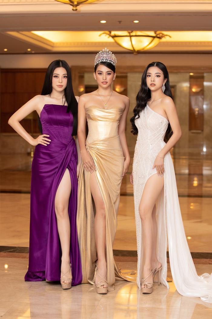 Tiểu Vy - Phương Nga - Thúy An rạng rỡ thu hút mọi ánh nhìn, tự hào nhìn lại 2 năm nhiệm kỳ Hoa hậu Việt Nam Ảnh 7