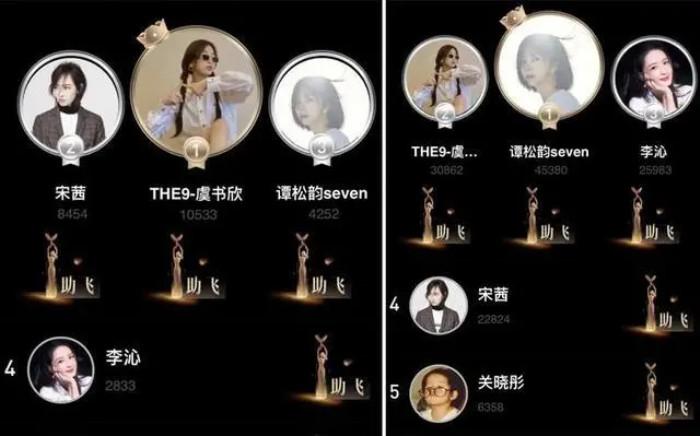 Đàm Tùng Vận bị nghi ngờ bỏ tiền mua phiếu bầu khi bỏ xa Ngu Thư Hân và Tống Thiến tại đề cử Nữ thần Kim Ưng 2020 Ảnh 8