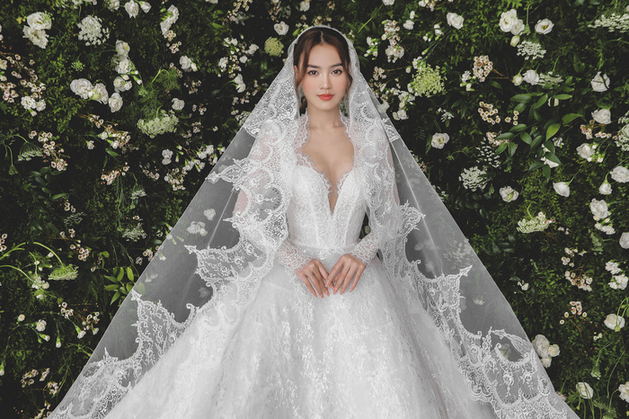 Ninh Dương Lan Ngọc diện váy cô dâu đẹp ngỡ ngàng, khoe visual đỉnh khiến dân tình tròn mắt Ảnh 14