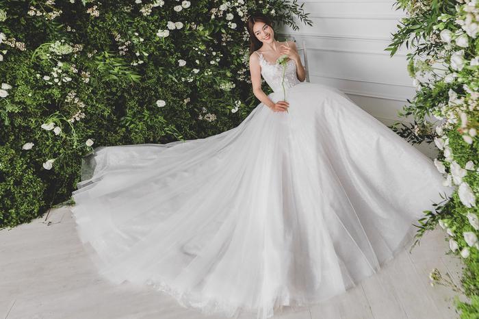 Ninh Dương Lan Ngọc diện váy cô dâu đẹp ngỡ ngàng, khoe visual đỉnh khiến dân tình tròn mắt Ảnh 3