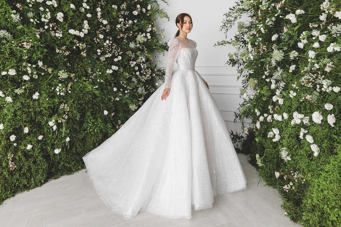 Ninh Dương Lan Ngọc diện váy cô dâu đẹp ngỡ ngàng, khoe visual đỉnh khiến dân tình tròn mắt Ảnh 6