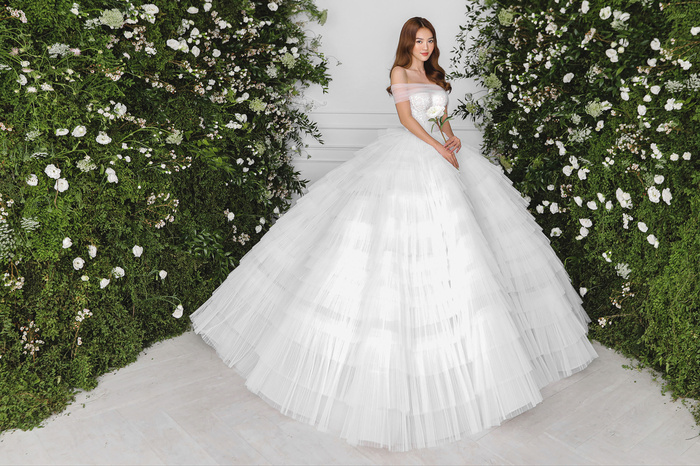 Ninh Dương Lan Ngọc diện váy cô dâu đẹp ngỡ ngàng, khoe visual đỉnh khiến dân tình tròn mắt Ảnh 10