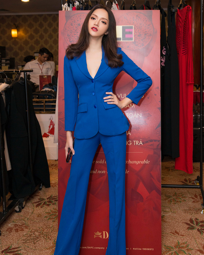 Những bộ vest gợi cảm theo cấp số nhân của Hương Giang, đẳng cấp hoa hậu số 1 Vbiz! Ảnh 5