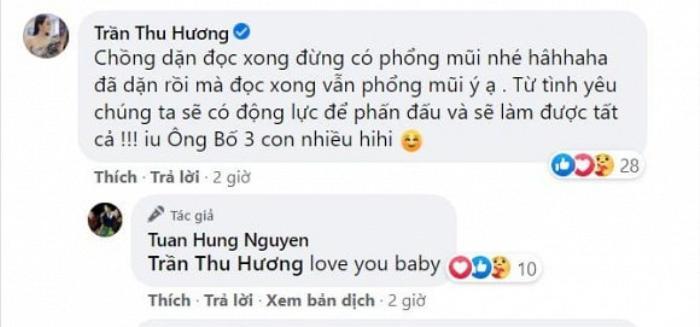 Hương Baby 'phổng mũi' khi được ông xã Tuấn Hưng nói lời ngọt ngào Ảnh 5